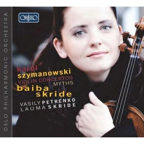 齐玛诺夫斯基:小提琴协奏曲,神话 szymanowski: violin concertos 1